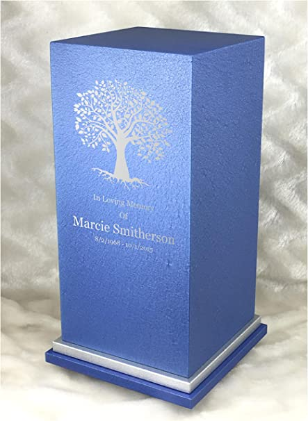 167f2df713043 PERSONALIZED Engraved Tree of Life Cremation Urn for Human Ashes-Made in  America-Handcrafted in the USA by Amaranthine Urns- Adult Funeral Urn up to  ...