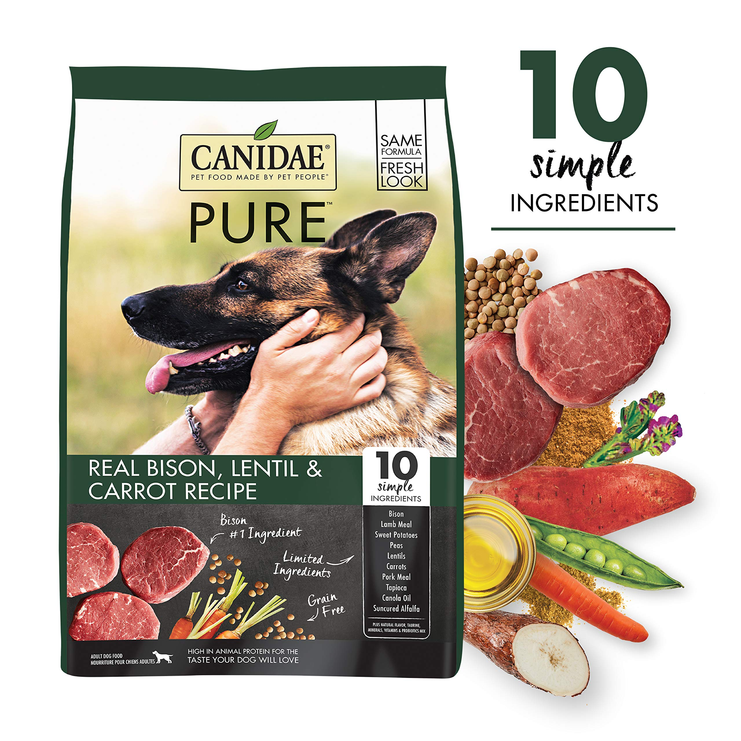 Amazon Canidae Grain Formula Fresh Bison Reviews