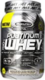 MuscleTech Platinum 100% Whey Protein Powder,  Cookies and Cream,  2.0 lbs (907g)