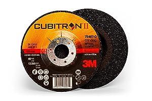 "Cubitron II 78467 3M Depressed Center Grinding Wheel T27, 5"" x 1/4"" x 7/8"""