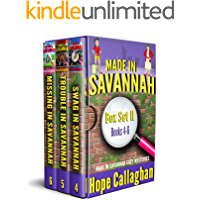 Made in Savannah Cozy Mysteries Box Set II: (Books 4-6 in the Made in Savannah Cozy Mystery Series)