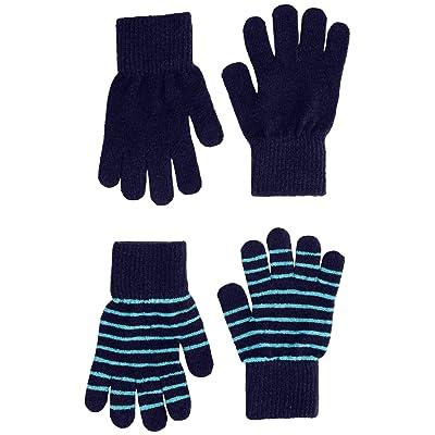 b6a0719c860 2 Pck. Wool Blend Kids Gloves - Unisex-Boy-Girl (3-