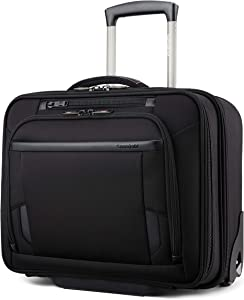 Samsonite Pro Upright Mobile Office, Black, One Size