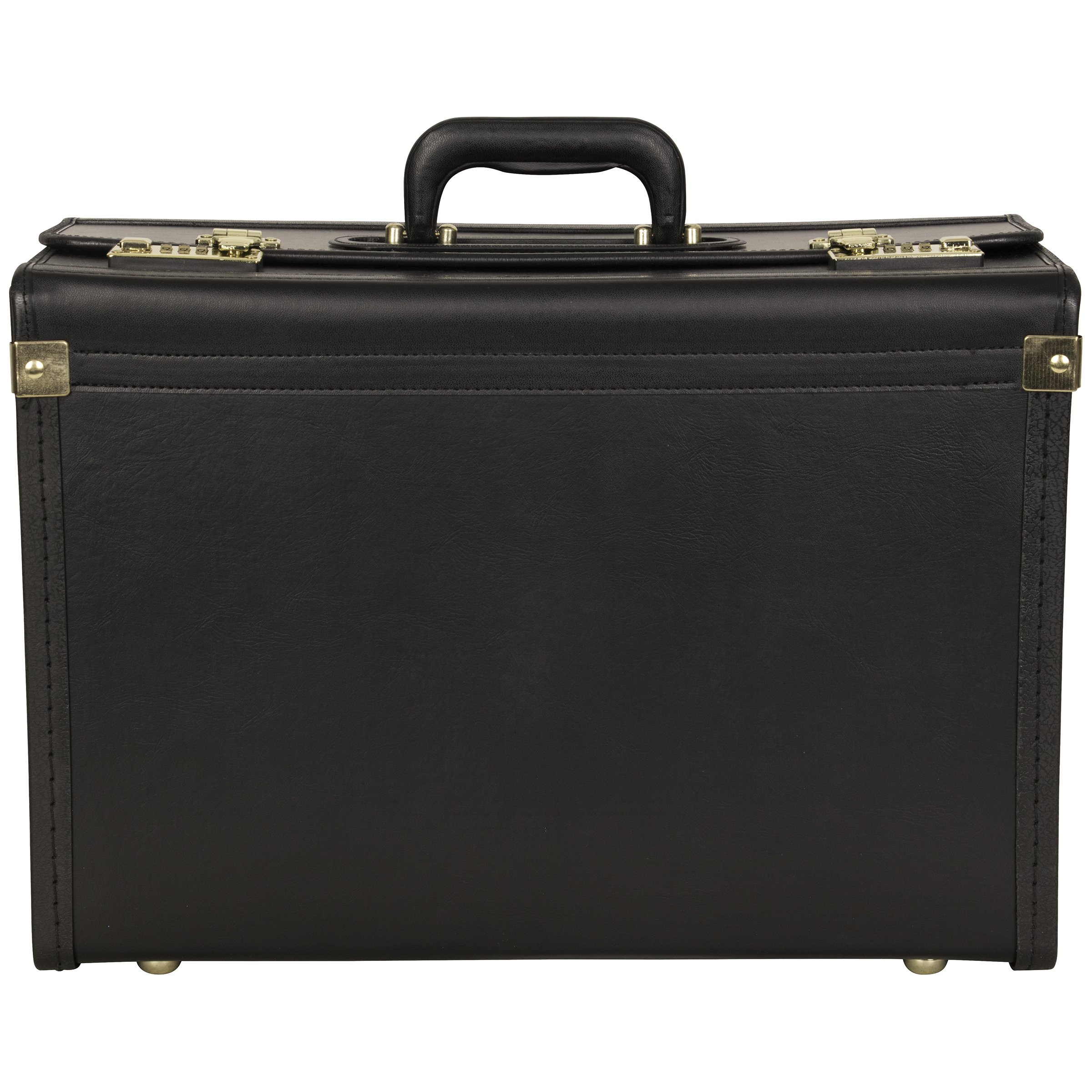 Heritage Vinyl Catalog Case, 13in.H x 18 1/2in.W x 8in.D, Black