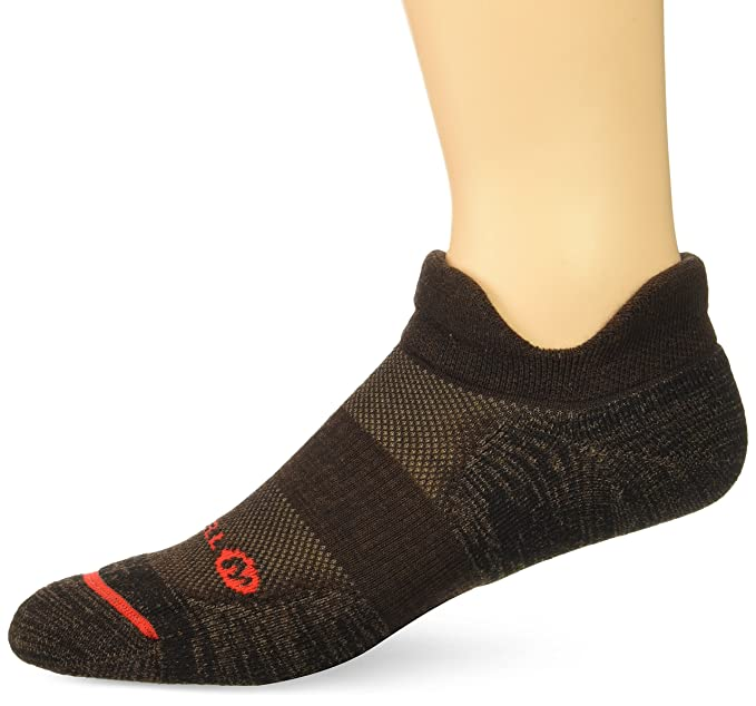 d0db24c42f Merrell Men's 1 Pack Cushioned Performance Dual Tab Trail Runner Socks