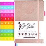 GoGirl Planner and Organizer for Women - Compact Size Weekly Planner, Goals Journal & Agenda to Improve Time Management…