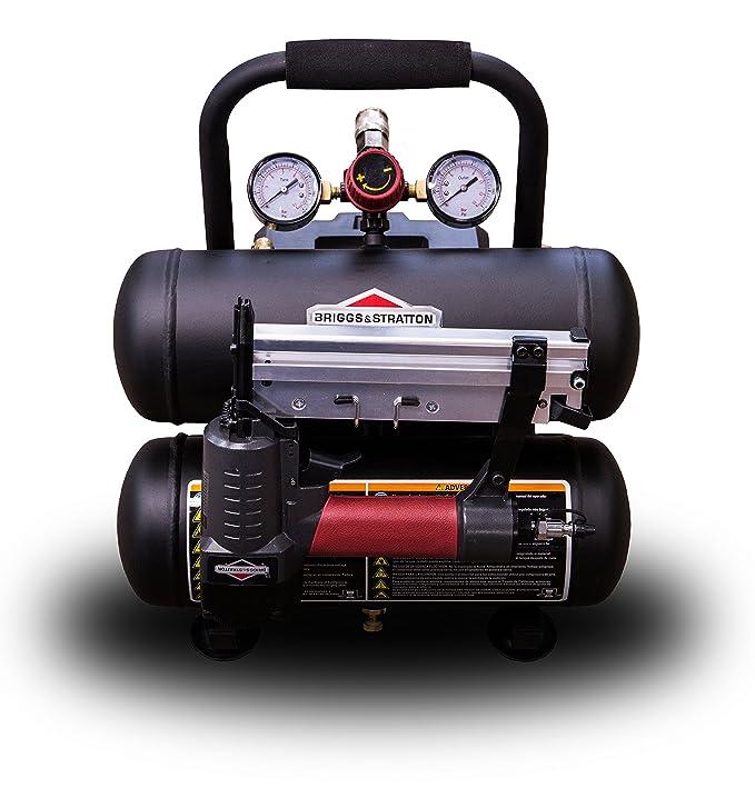 Briggs & Stratton 10-Gallon Air Compressor, Vertical 074063-00 - - Amazon.com