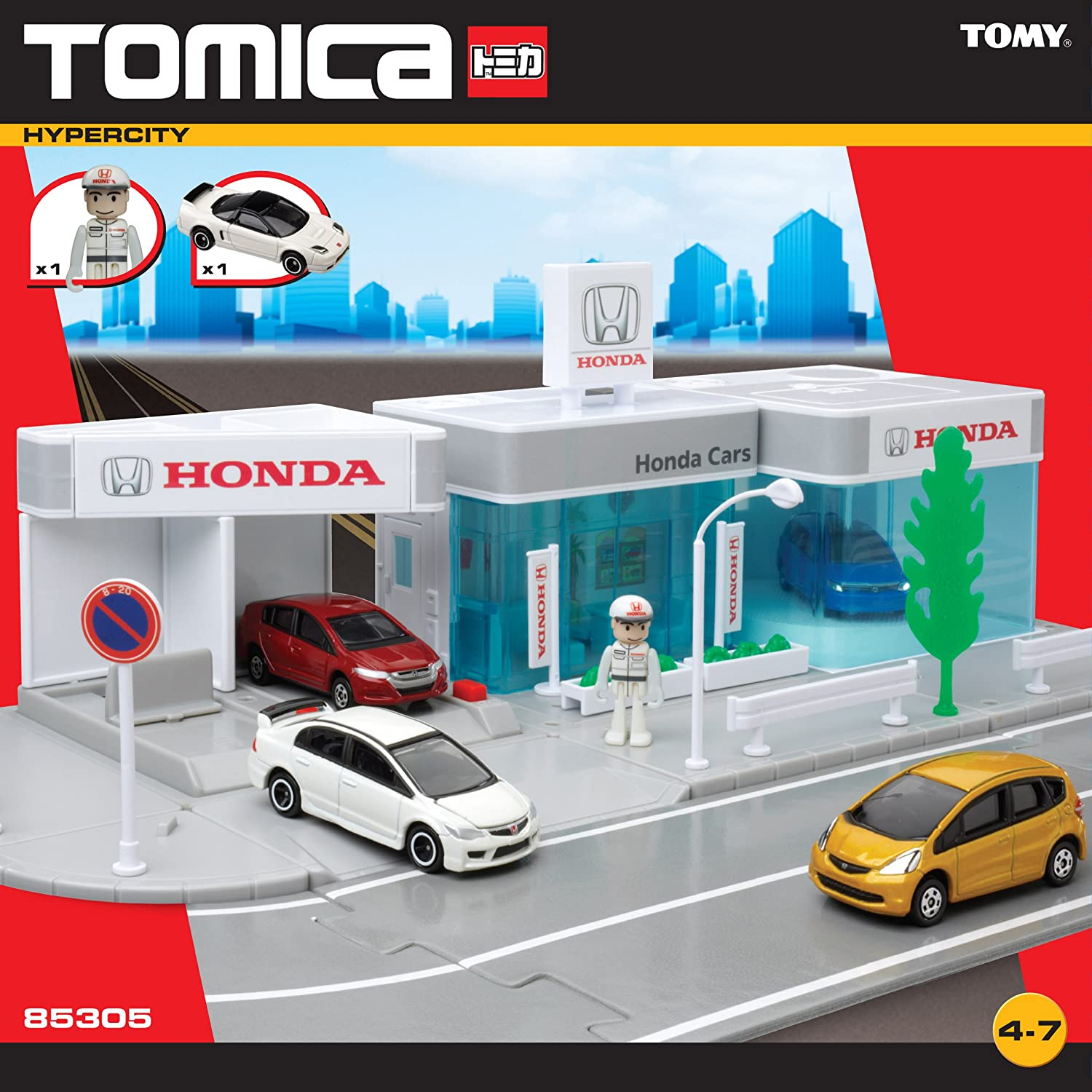 Buy Tomica Honda Garage Multi Color Online At Low Prices In India