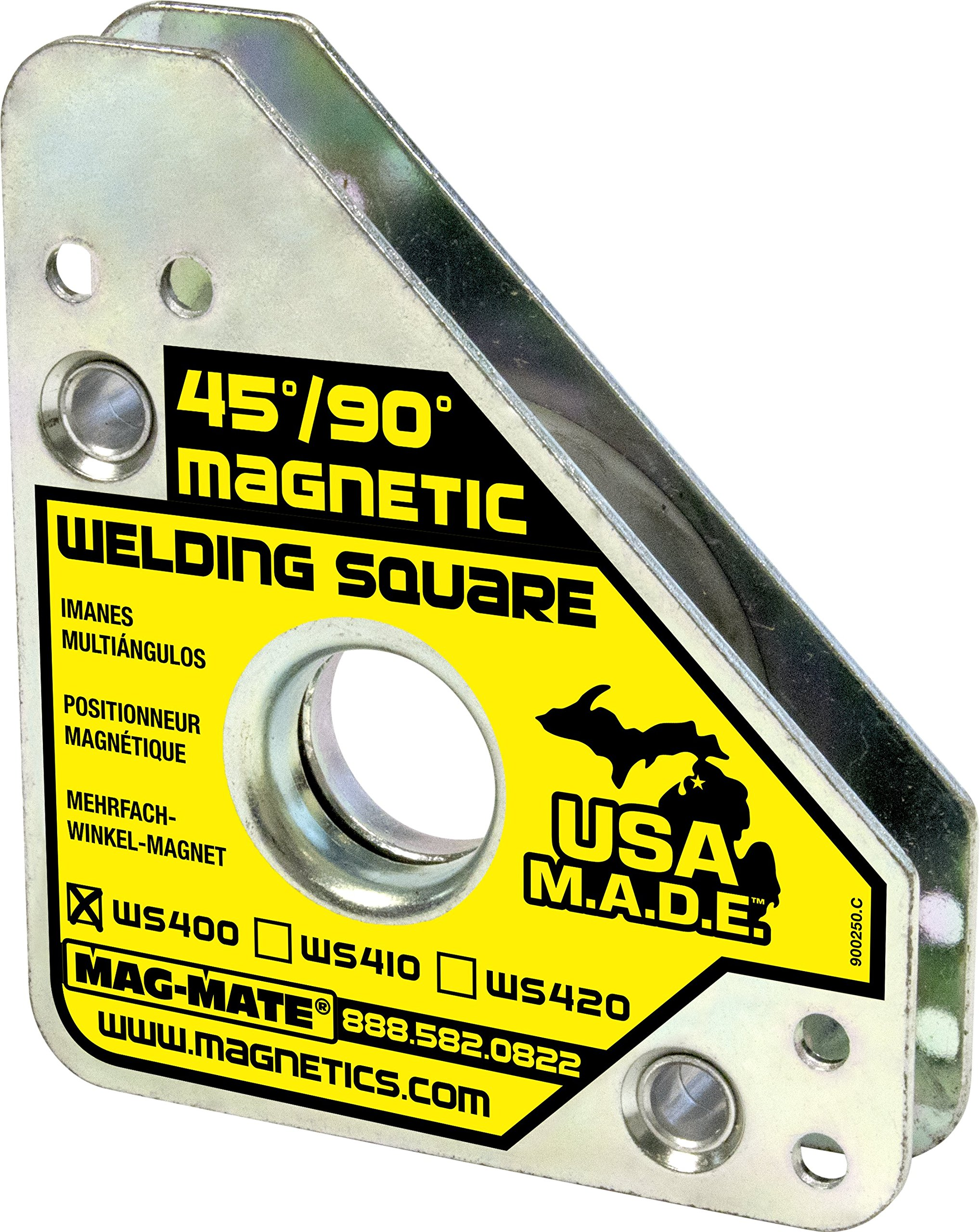 MAG-MATE WS400 Magnetic Welding Square with 75 lb Capacity