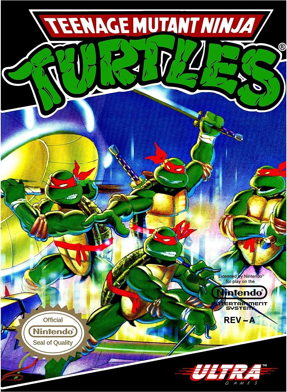 Amazon.com: Teenage Mutant Ninja Turtles: nintendo ...