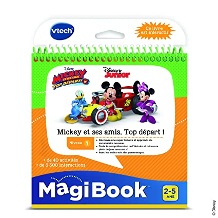 Amazon Com Vtech Magibook Teamwork With Mickey Mouse And