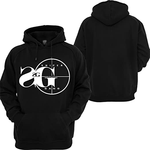 701e5a8a3 Sniper Gang Hooded Sweatshirt Kodak Black Project Baby Custom Rap Music  Hoodie