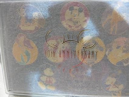 Amazon.com: 10 piece Disney Channel 10th Anniversary Pin Set ...