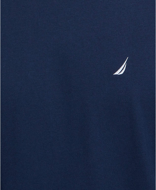 Nautica Mens Short Sleeve Crew Neck Soft Knit Sleep Tee