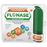 Flonase Children's Allergy Relief Nasal Spray, 60 Sprays Green, 0.34 Fl Oz