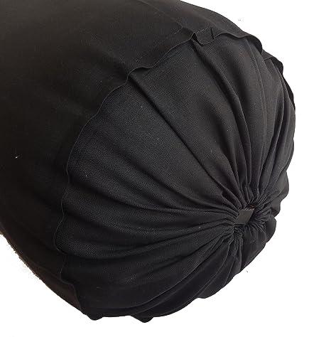 Amazon.com: Azafrán funda de almohada rollo de cuello ...