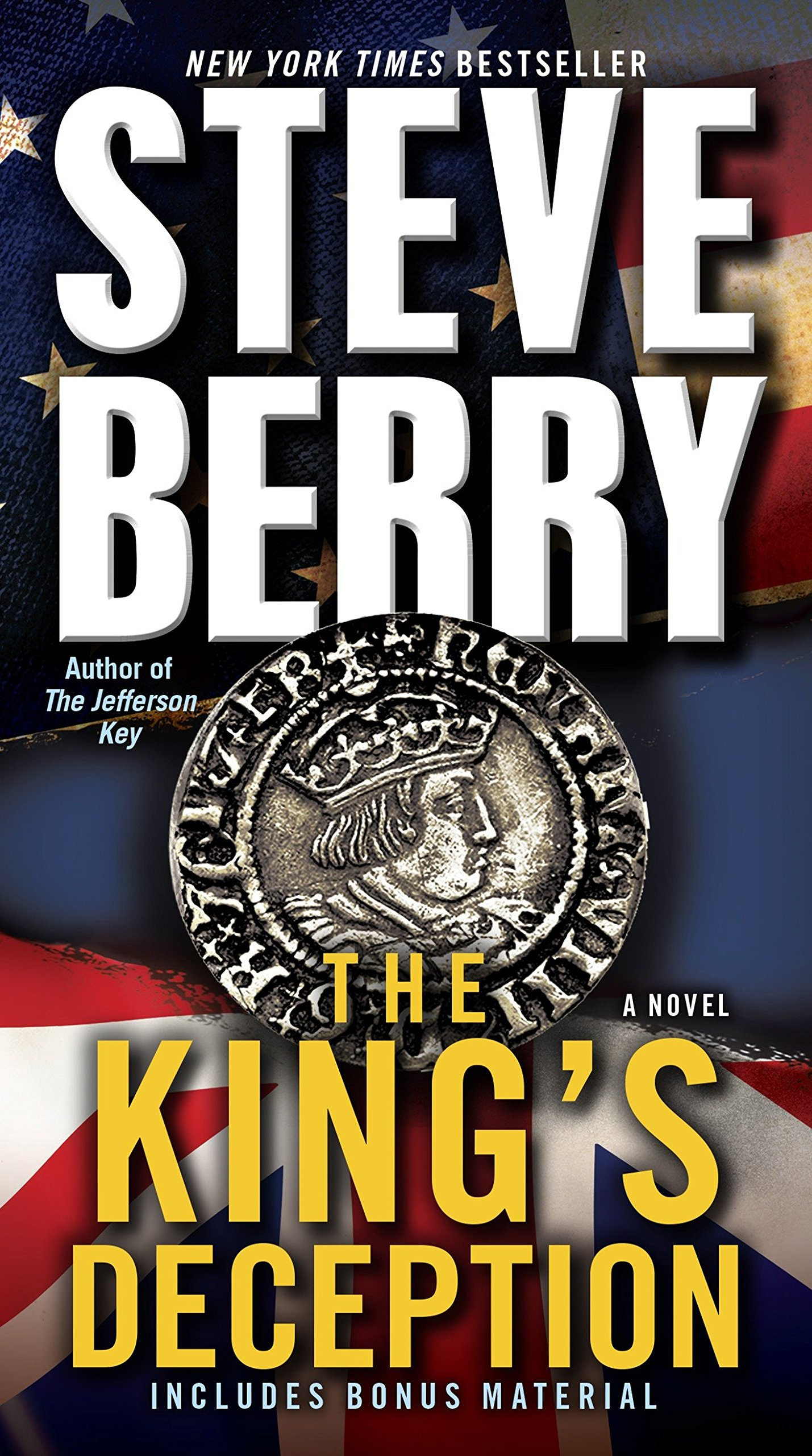Amazon.com: The King's Deception (Cotton Malone) (9780345526557): Steve  Berry: Books