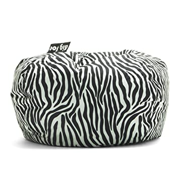 Swell Big Joe 98 Inch Bean Bag Zebra Onthecornerstone Fun Painted Chair Ideas Images Onthecornerstoneorg