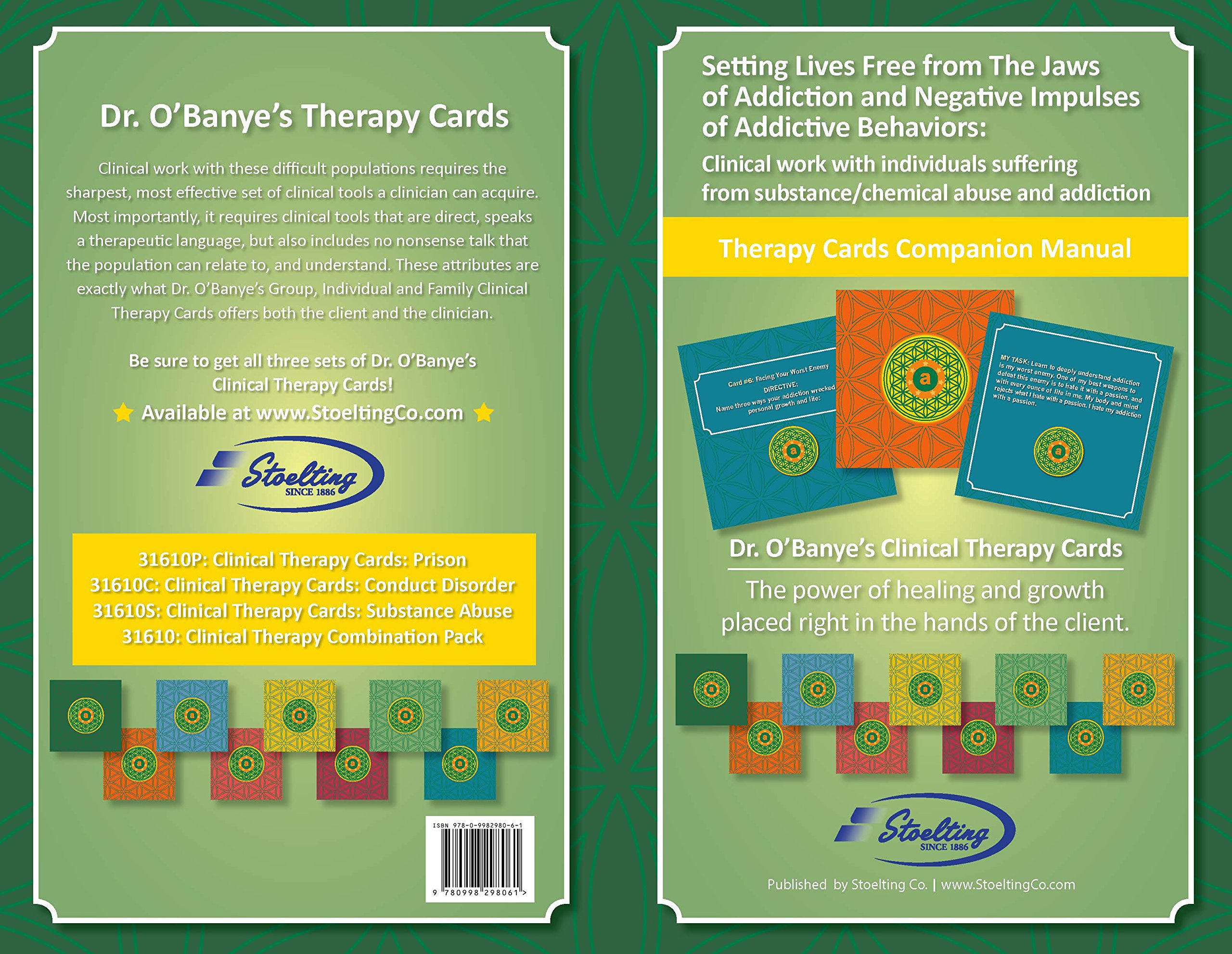 Dr  O'Banye's Clinical Therapy Cards: Substance Abuse- Setting Lives