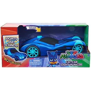 Amazon.com: Just Play 24896 Pj Masks Light Up Racers Cat Car: Toys & Games