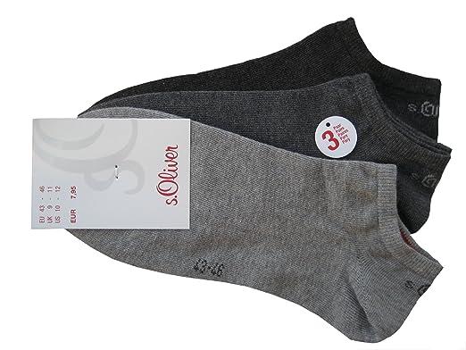 9 Paar s.Oliver Damen Sneaker Socken schwarz unisex  Amazon.de  Bekleidung 3945eefdc0