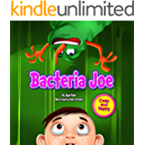 """BACTERIA JOE"": Motivating Your Child to Brush Their Teeth (With Bonus: 1+1 Free) ""Clean and Happy""  series 1 (Bedtime story readers picture book (kids: 2-6))"