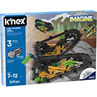 Deals on KNEX Imagine 4WD Crusher Tank Building Set 249-Piece 13127