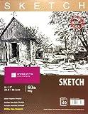 """HYACINTH Sketch Book, 9""""x12"""",60lb/98g, 40 Sheets"""