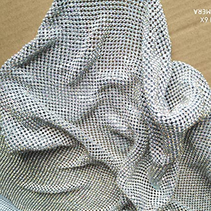 4c28f8a2ae01 Image Unavailable. Image not available for. Color  Creativesugar Craft  Material Metal Rhinestone mesh ...