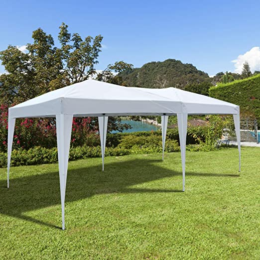 Carpa 6x3m Plegable en Acordeon + 1 Bolsa Transporte Fiesta Eventos Boda: Amazon.es: Jardín