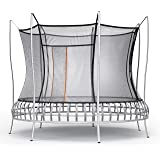 Vuly Thunder Trampoline with Leaf Springs Bounce, Extra-Tall Enclosure, and Self-Closing Door (Multiple