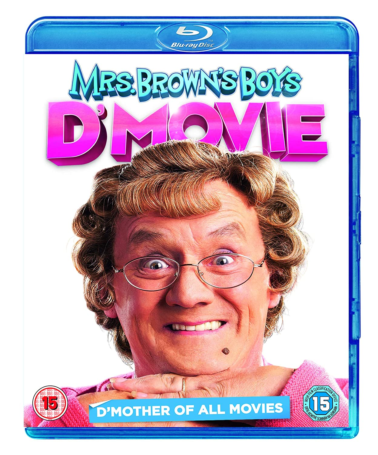 Mrs. Brown's Boys D'Movie (+ UV Copy) [ Blu-Ray, Reg.A/B/C Import - United Kingdom ]