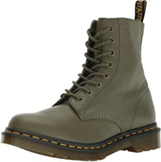 Dr. Martens Women s Pascal Leather Combat Boot 88f7670a9702