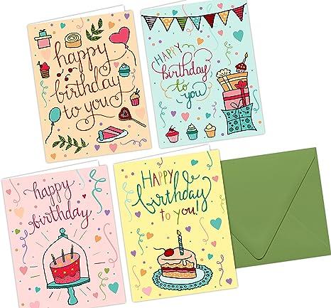 Amazon.com: One Lane Jade – Whimsical – Feliz cumpleaños ...