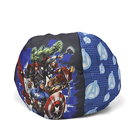 Admirable Amazon Com Marvel Avengers Toddler Nylon Bean Bag 18 Inch Gmtry Best Dining Table And Chair Ideas Images Gmtryco