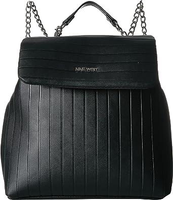 46089474b2f Amazon.com  Nine West Women s Drucilla Backpack Black One Size  Clothing