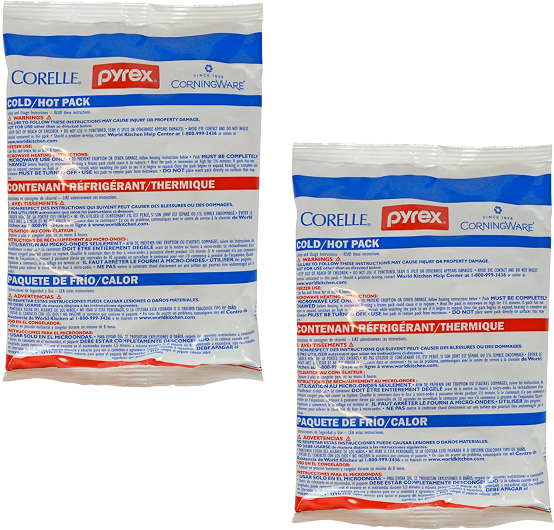 Amazon.com: Pyrex paquete de gel frío caliente para ...