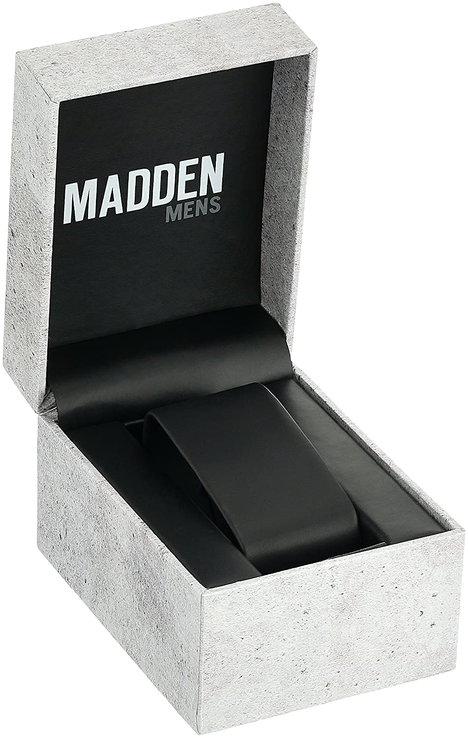 Amazon.com: Steve Madden Mens Quartz Metal and Stainless Steel Casual Watch, Color:Black (Model: SMMW002-BK): Watches