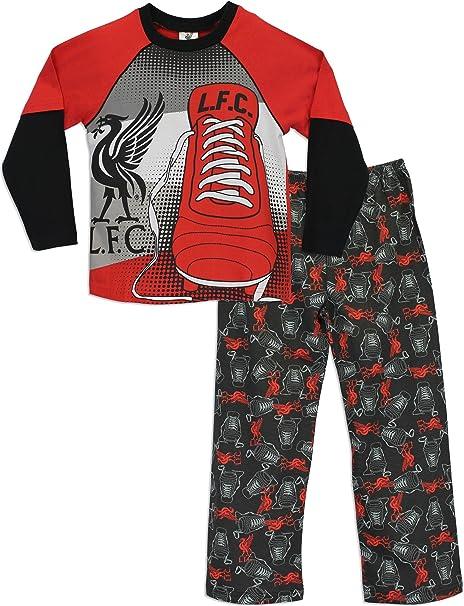 Liverpool F.C - Pijama para Niños 10-11 Años