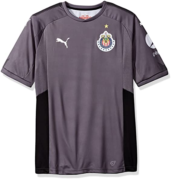 83359058c0d9e Amazon.com: PUMA Men's Chivas Gk Home Shirt Replica 17-18: Clothing