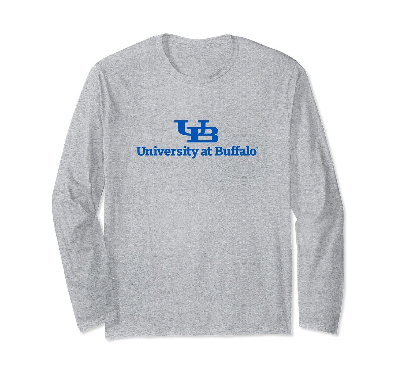 University at Buffalo NCAA Long Sleeve Tee - PPBUF001-fa