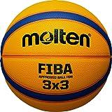 Molten Unisexs 33 Libertria FIBA Approved Basketball-Tan 6 cm