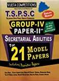 TSPSC Group-IV Paper 2 Top 21 Model Papers [ ENGLISH MEDIUM ]