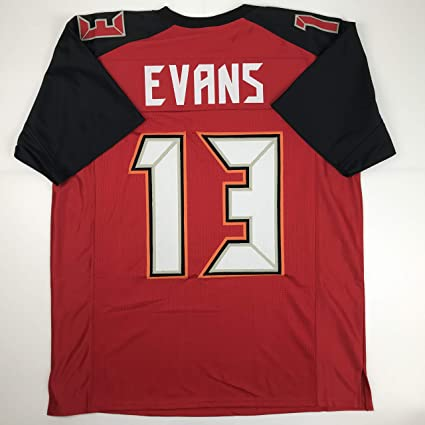 383428009 Unsigned Mike Evans Tampa Bay Red Custom Stitched Football Jersey Size XL  New No Brands/