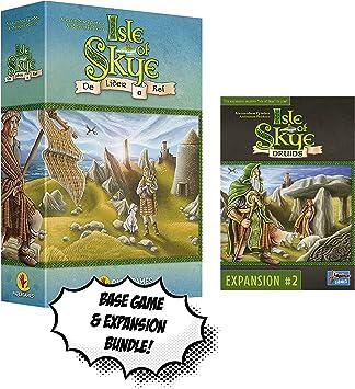 Isla de Skye + Isla de Skye: Druids Expansion!: Amazon.es: Juguetes y juegos