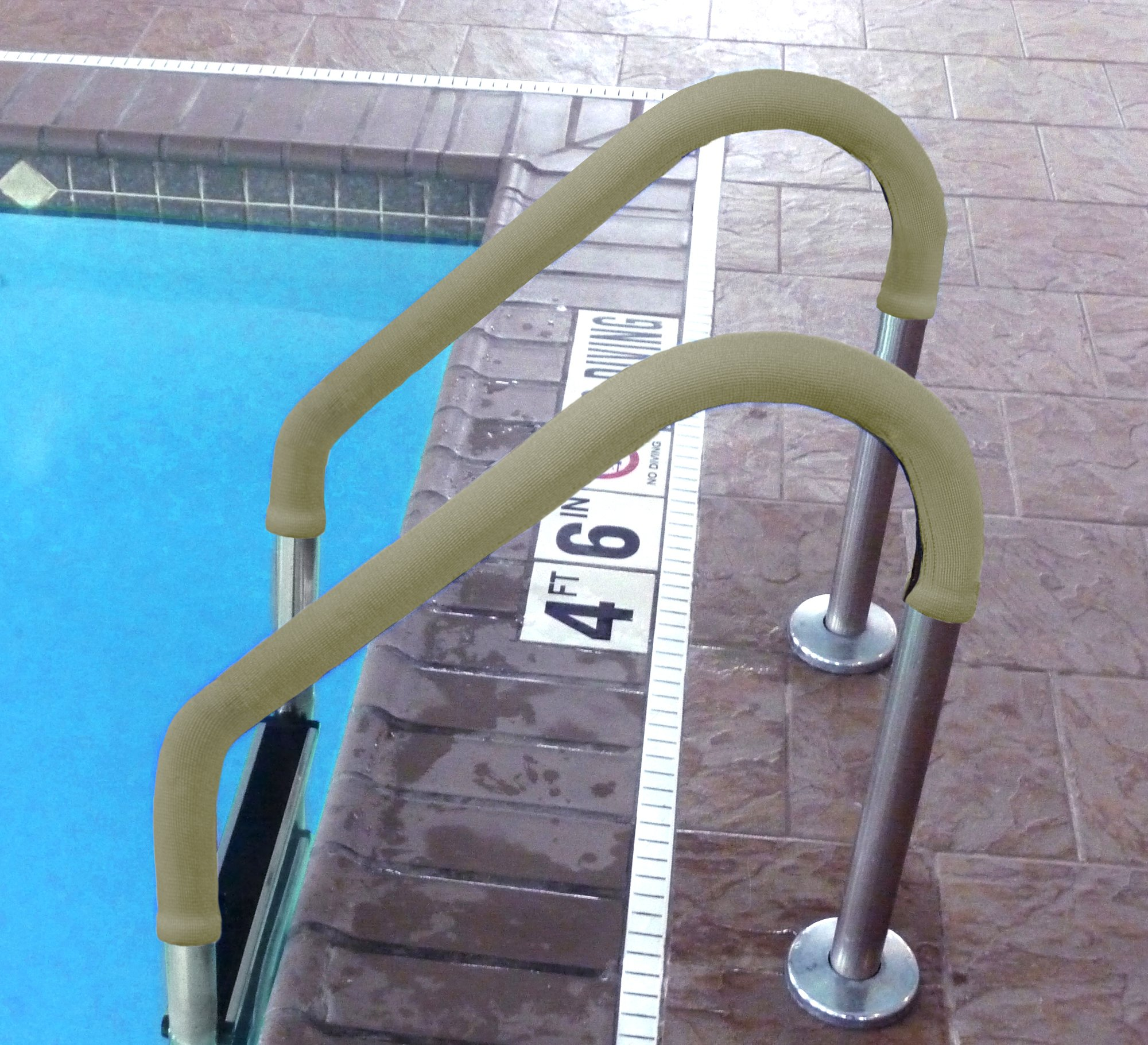 Rail Grips 6 foot tan by Blue Wave