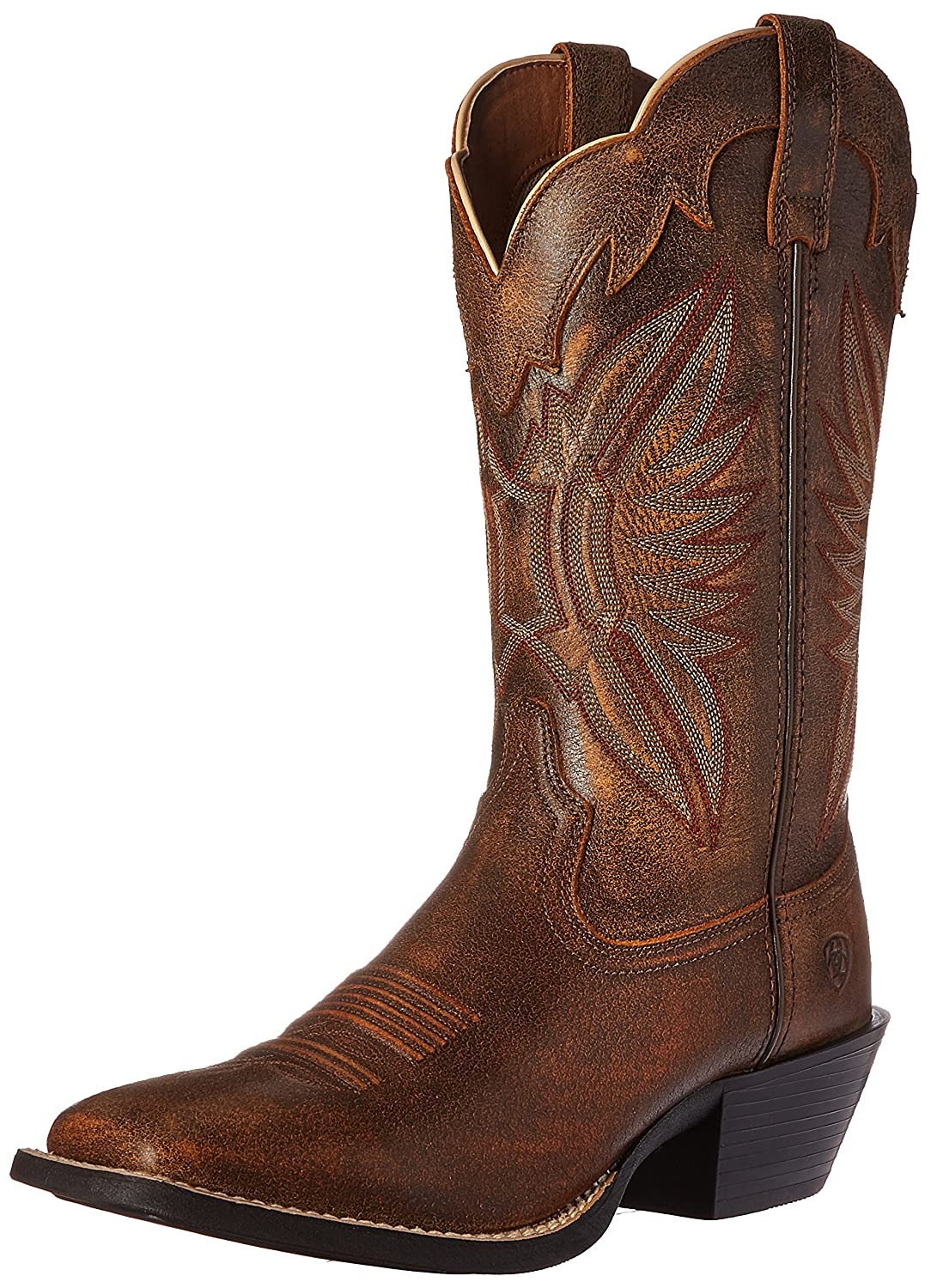 Amazon.com | Ariat Women's Round Up Outfitter Western Cowboy Boot, Vintage  Bomber, 6 B US | Mid-Calf