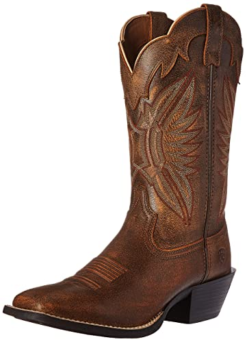 Ariat Women's Round Up Outfitter Western Cowboy Boot, Vintage Bomber, ...