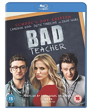 Bad Teacher (2011) UNRATED BluRay 720p 950MB [Hindi DD 2.0 – English 2.0] ESubs MKV