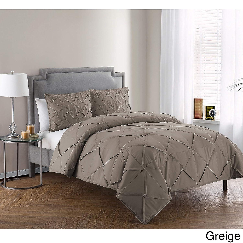 VCNY Home Julie Embroidered 3 Piece Bedding Comforter Set Queen Multi Victoria Classics JU1-3CS-QUEN-IN-MULT1